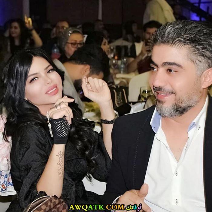 مها محمد وزوجها