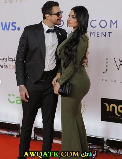 ندى كامل زوجة أحمد الفيشاوي