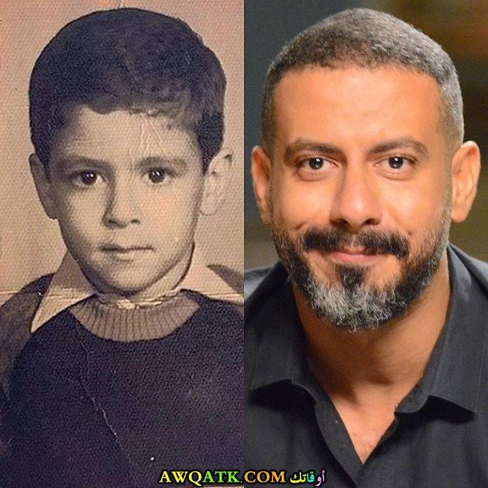 محمد فراج وهو صغير