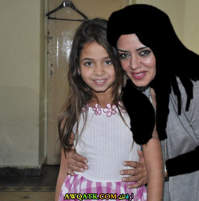 نانسي محمد مختار وهي صغيرة